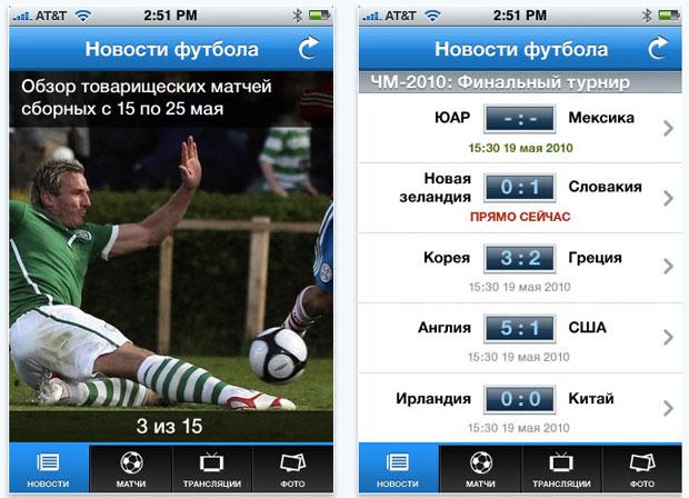 футбол россии время